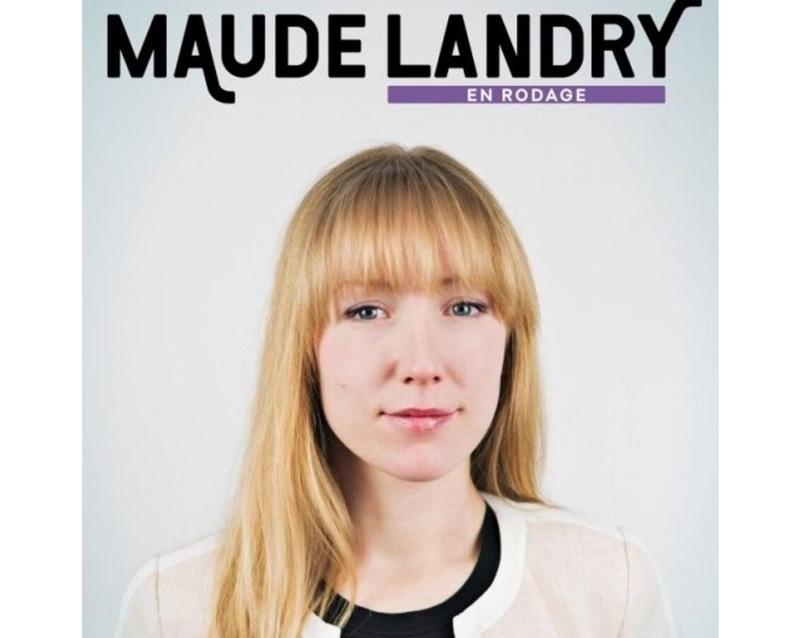 Maude Landry en rodage à la Polyvalente Montignac