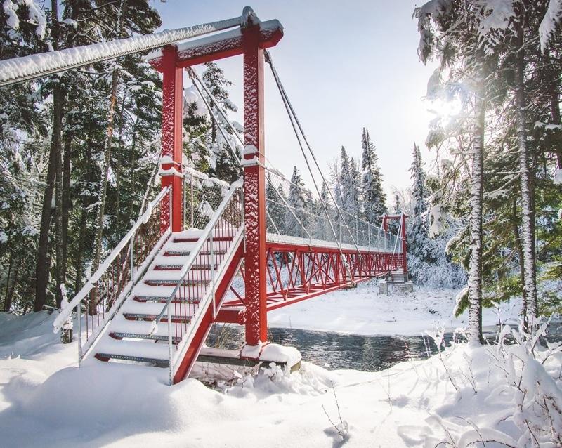 Un lac au sommet - Walking trail