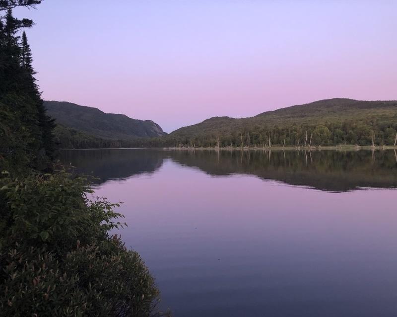 Mount Bélanger hiking trails
