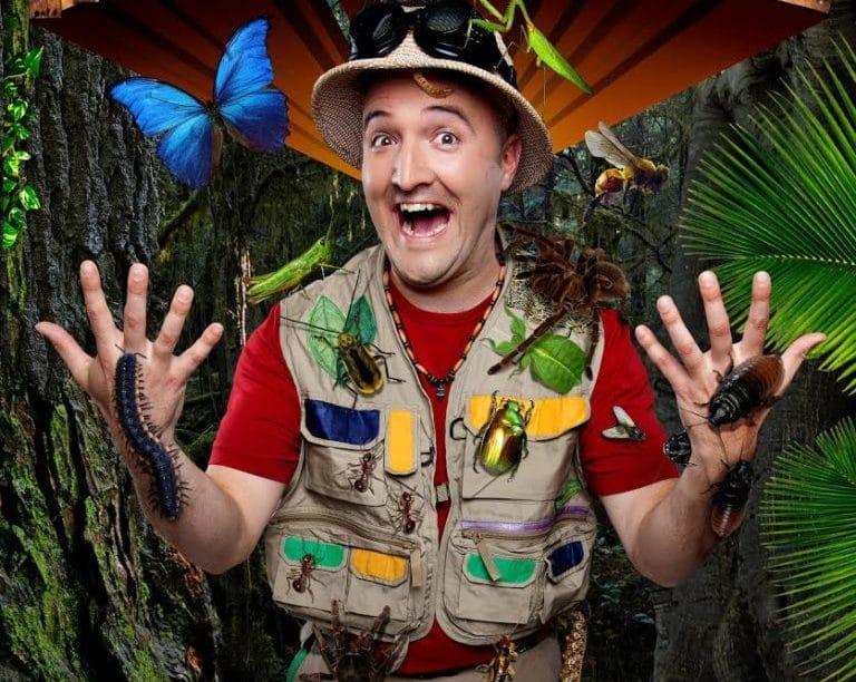 Bill Bestiole et les insectes sur scène - Spectacle pour enfants