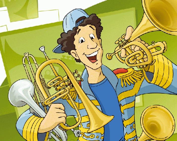 Les sept trompettes de Fred Piston - Concert multimédia animé