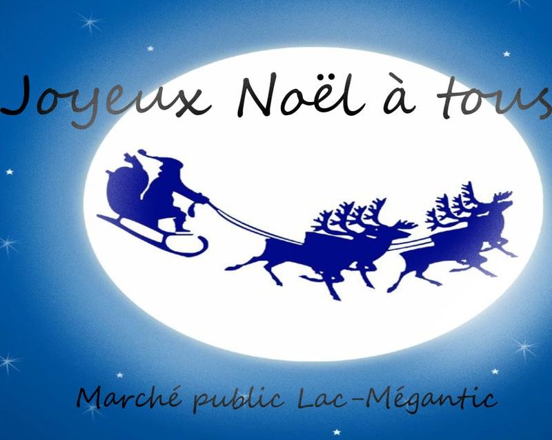 Marché de Noël dernière minute à Lac-Mégantic