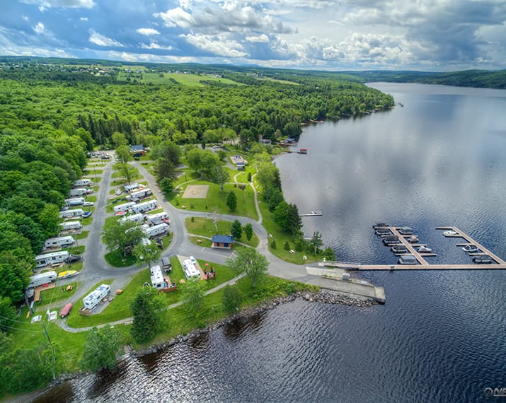Parc du Grand lac Saint-François