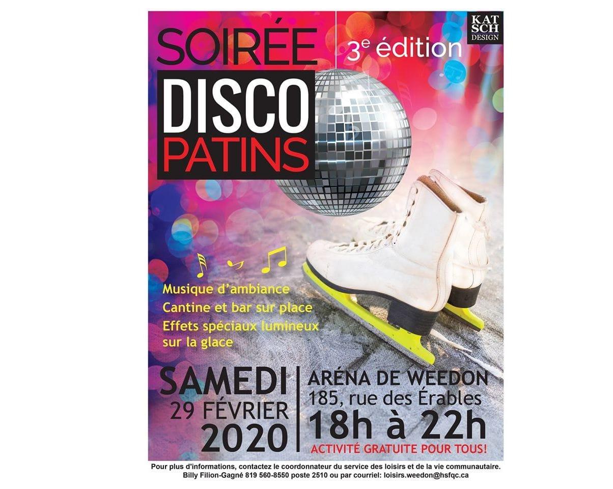 Soirée Disco Patins