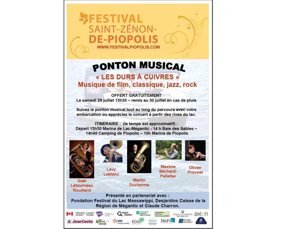 Le Ponton Musical, Festival Saint-Zénon-de-Piopolis