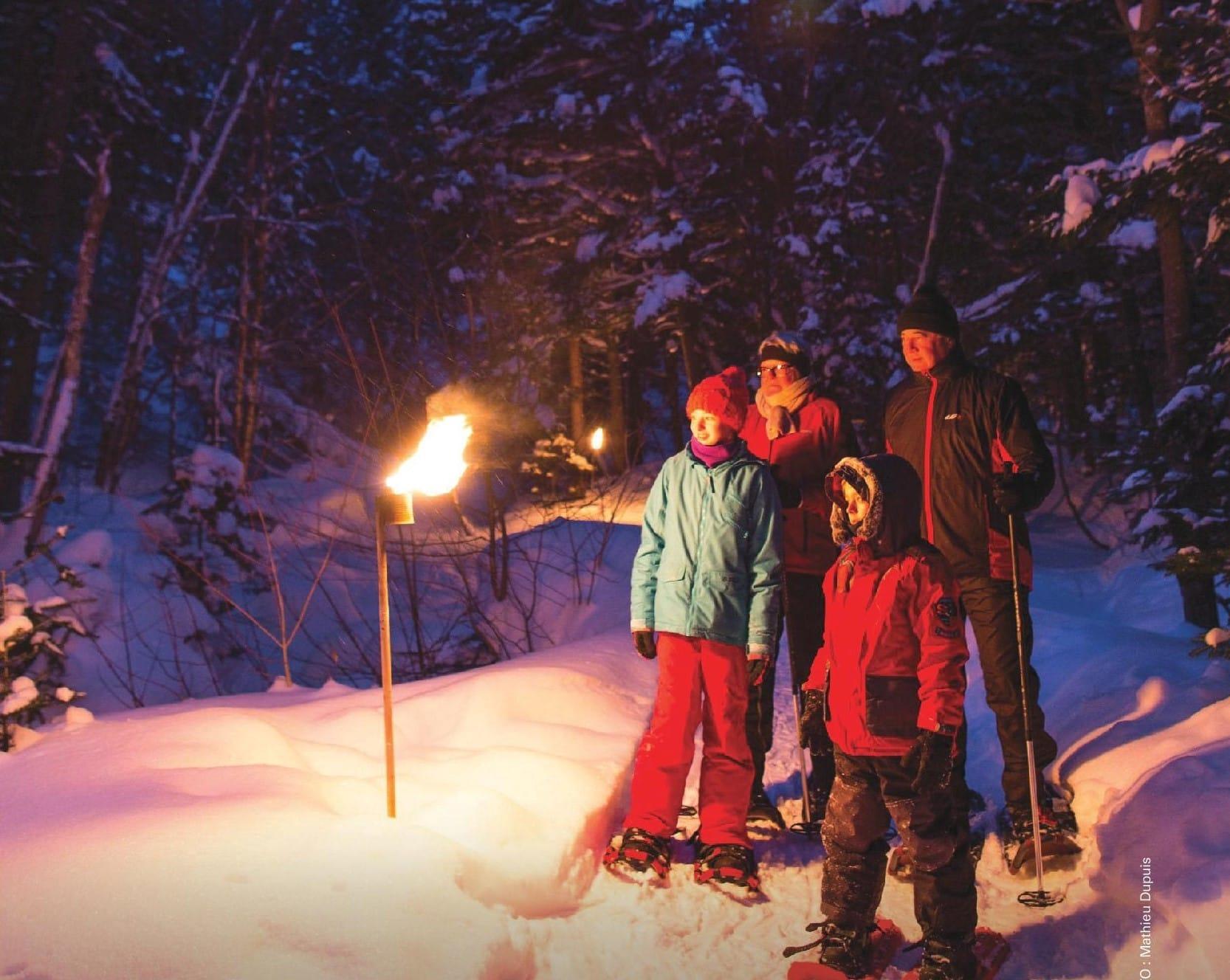 Parc national du Mont-Mégantic - Les samedis Astro-Flambeaux