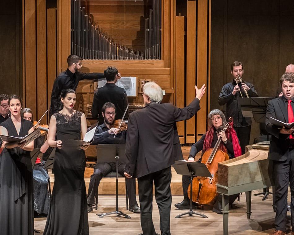L'enxemble Caprice - L'Oratorio de J. S. Bach