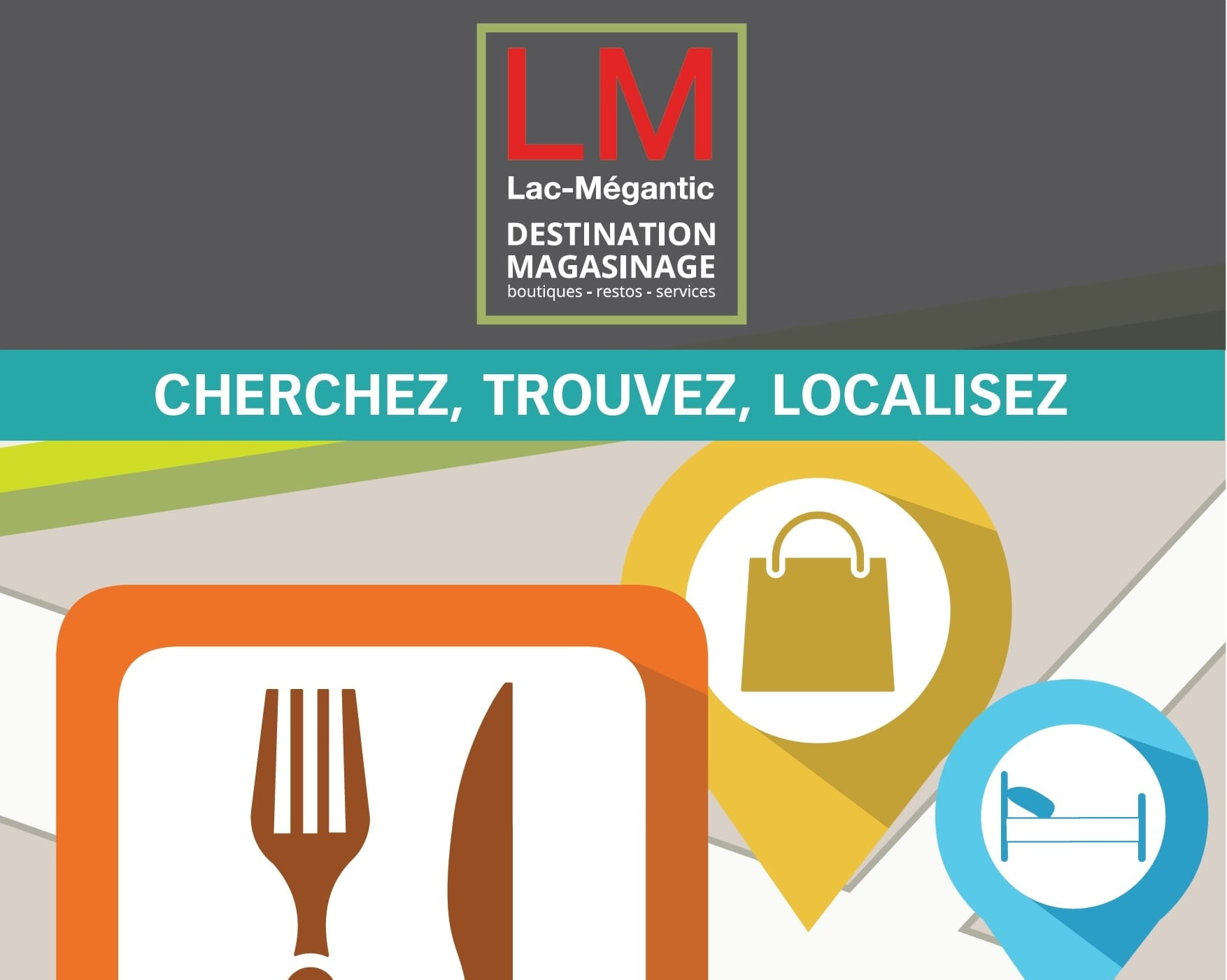 Boutiques, restaurants, and services in Lac-Mégantic