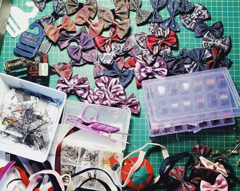 Boucles et Papillons pour fillettes et garçons au local estival