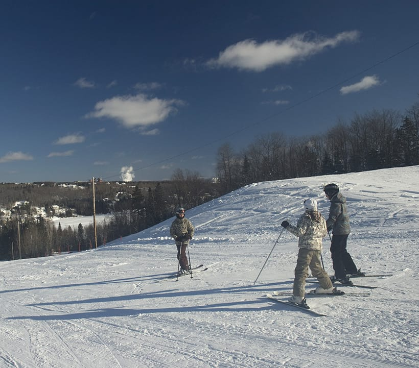 Sentiers de ski de fond et de raquette Baie-des-Sables