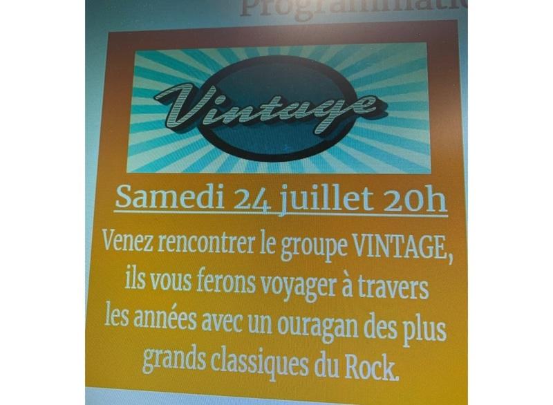 Vintage 'Sous le soleil...sous les étoiles'