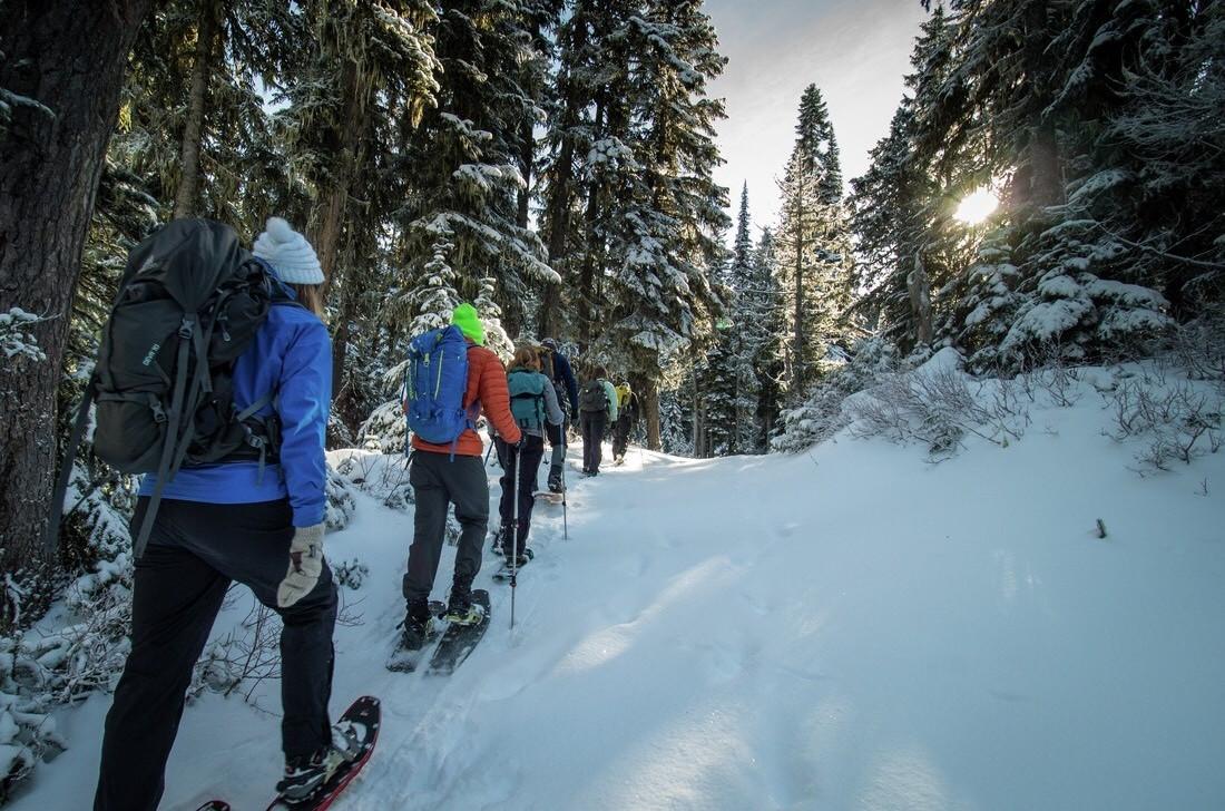Excursions en raquette - Action Tremblant   Tourisme Mont