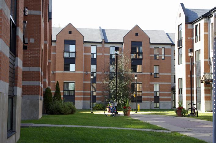 R sidences de l universit du qu bec trois rivi res - Residence les jardins de l universite ...