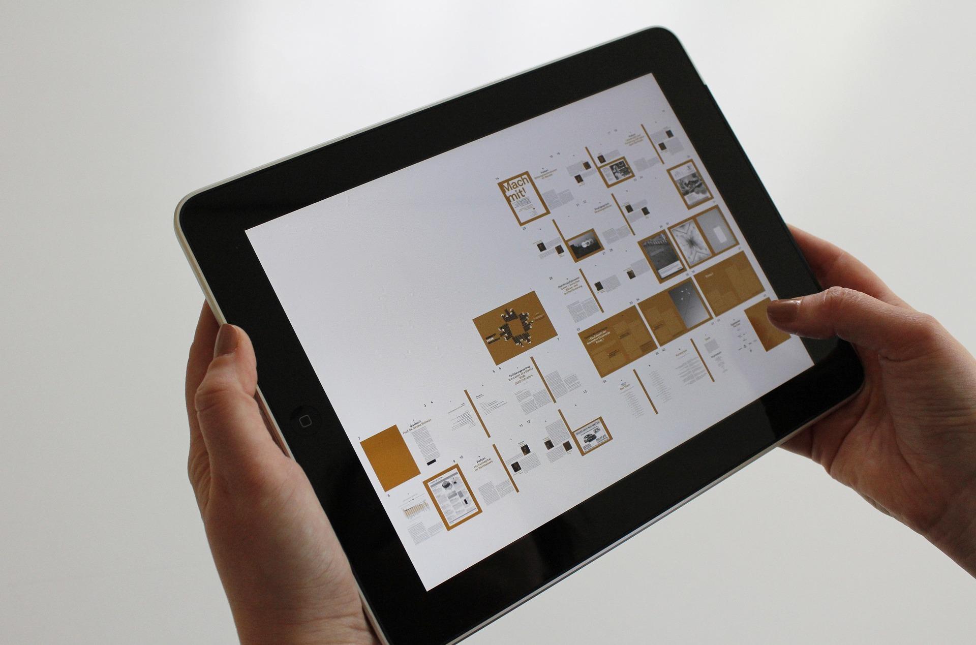 iPad, fonctions avancées