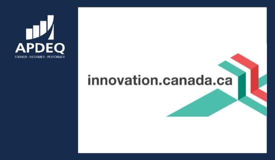Webconférence  Innovation Canada : Des outils et services à votre disposition