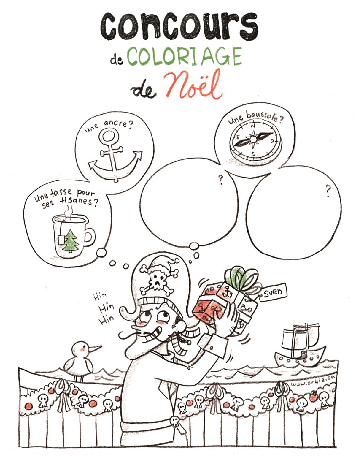 Concours De Coloriage De Noël Du Réseau Biblio Gîm Réseau