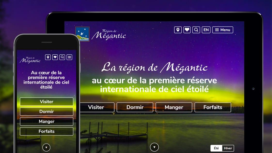 Une création signée LANEC pour Tourisme Mégantic
