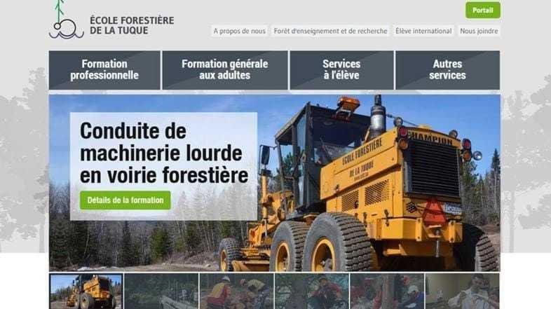 Un projet Web orienté « vert » l'avenir pour l'École forestière de La Tuque