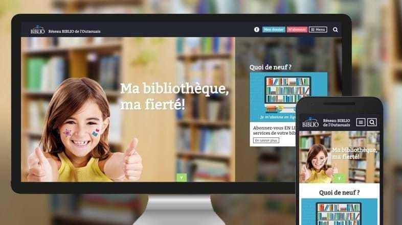 Réseau BIBLIO : Ma bibliothèque, ma fierté!