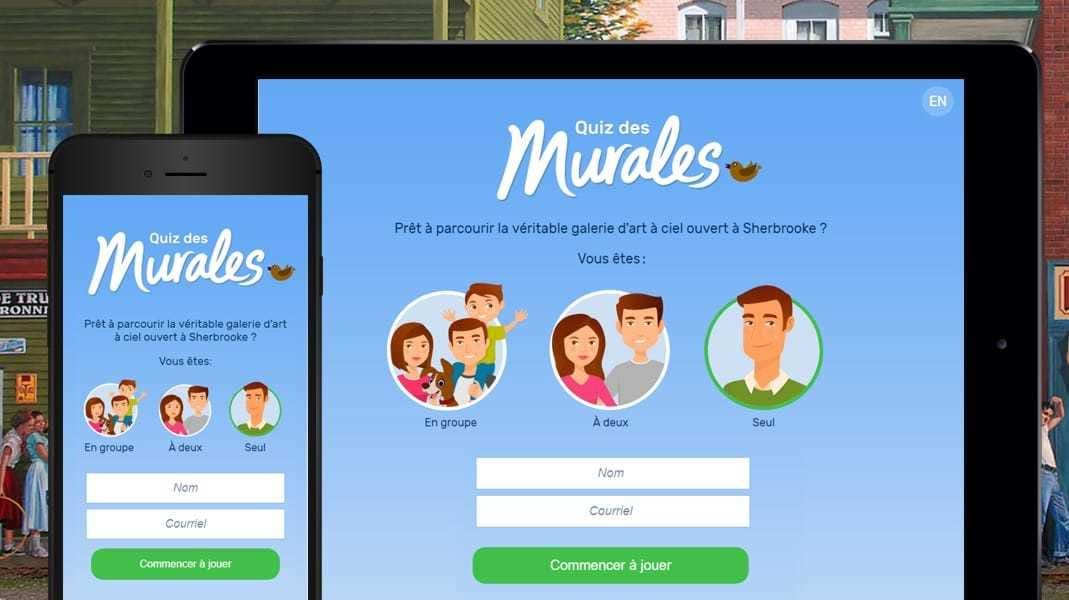 LANEC développe l'application interactive des murales de Sherbrooke